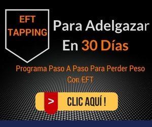 EFT tapping para adelgazar en 30 dias