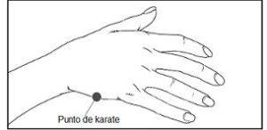 eft punto de karate