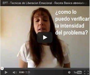 video receta abreviada eft como verificar la intensidad del problema