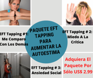 paquete eft tapping para aumentar la autoestima